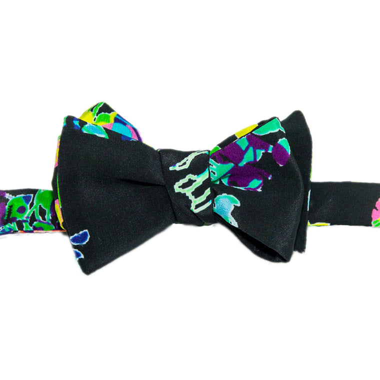 Funky Floral Bowtie