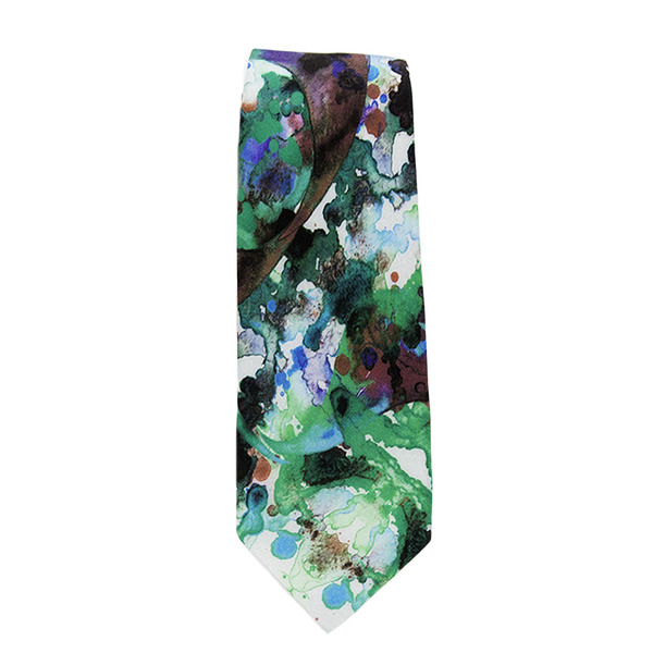 Paint Splatter Necktie