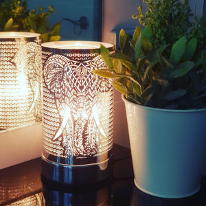 Elephant touch lamp