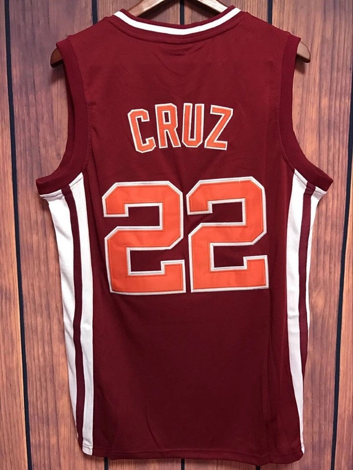Coach Carter Richmond Oilers Timo Cruz Jersey