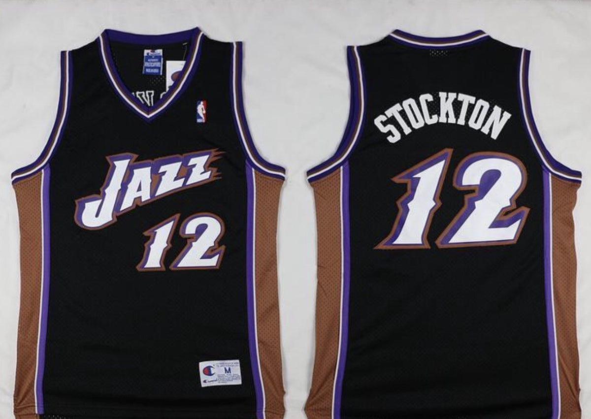 Throw Back John Stockton Jersey