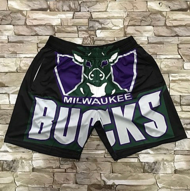 Throwback Bucks Shorts