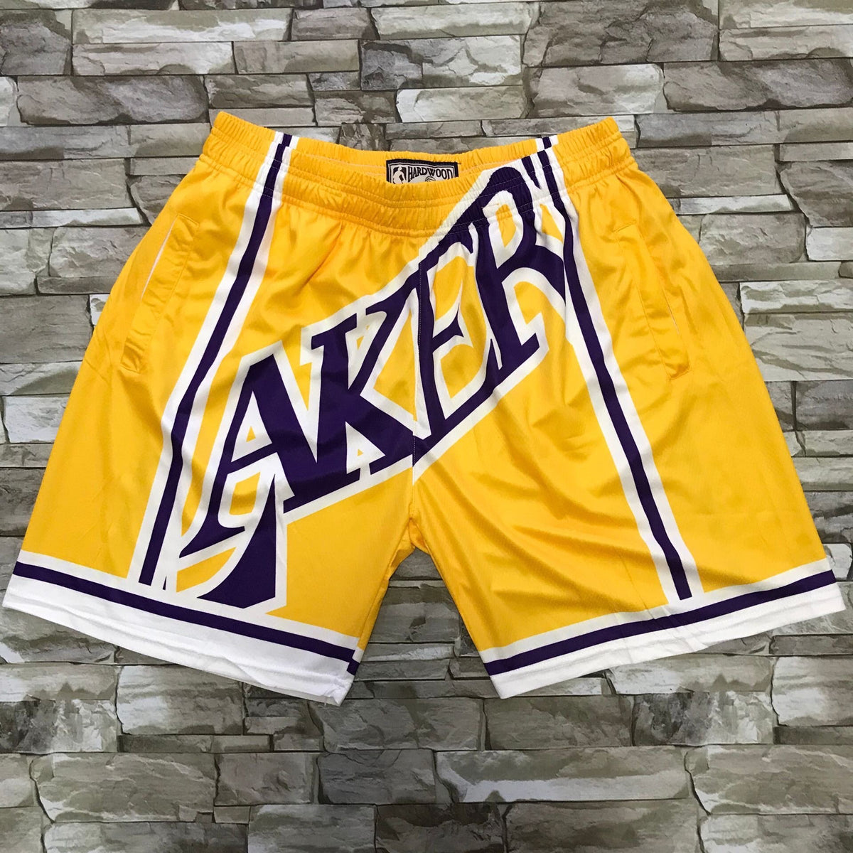 Throwback Lakers Shorts