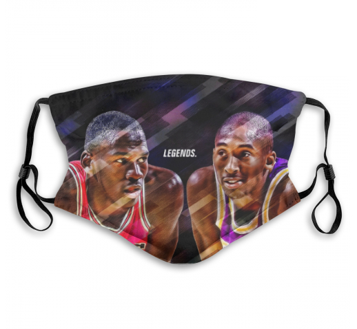 Kobe x MJ Custom Face Mask