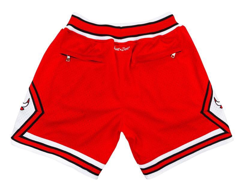 Throwback Chicago Bulls Shorts
