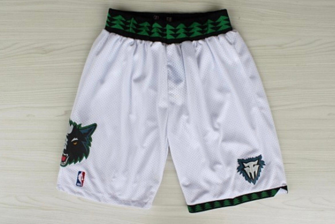 Throwback Timberwolves shorts