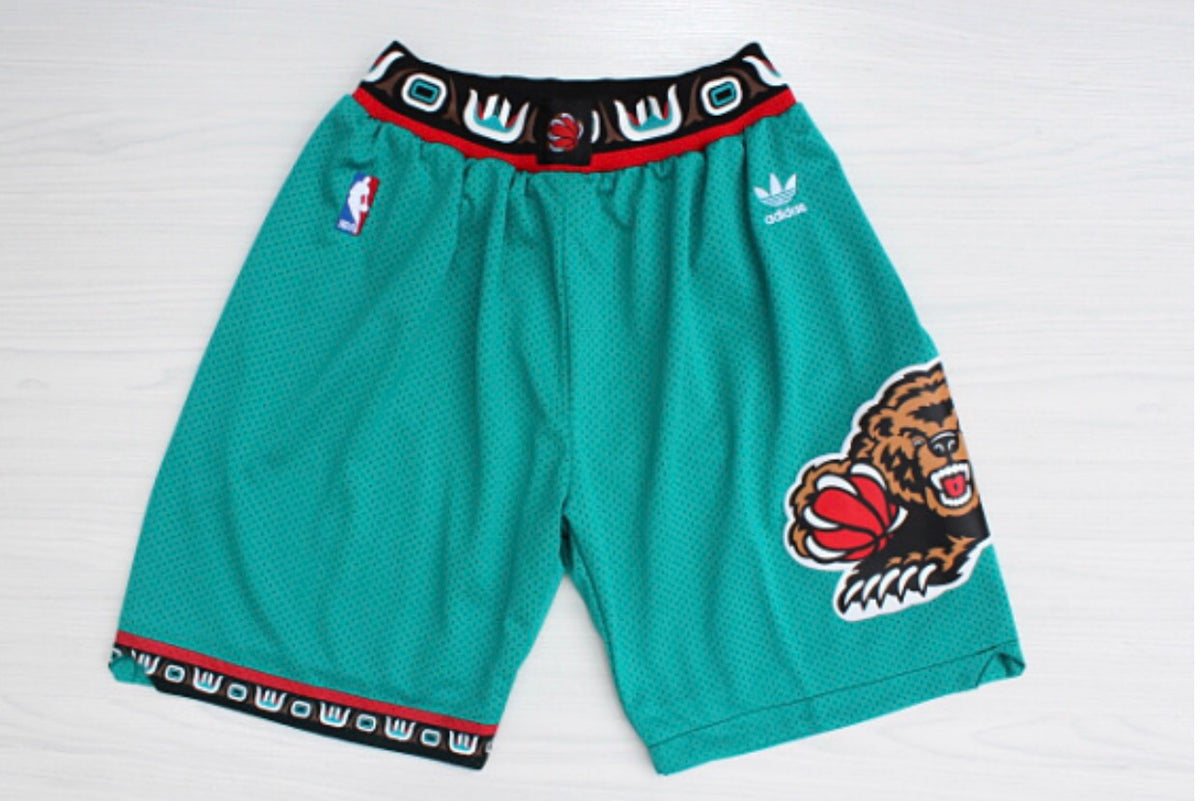 Throwback Grizzlies Shorts