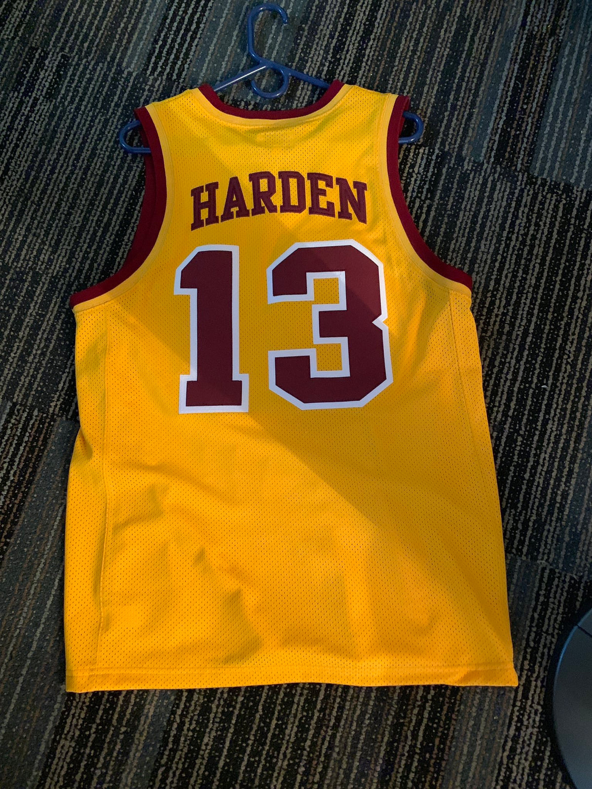 James Harden College Throwback