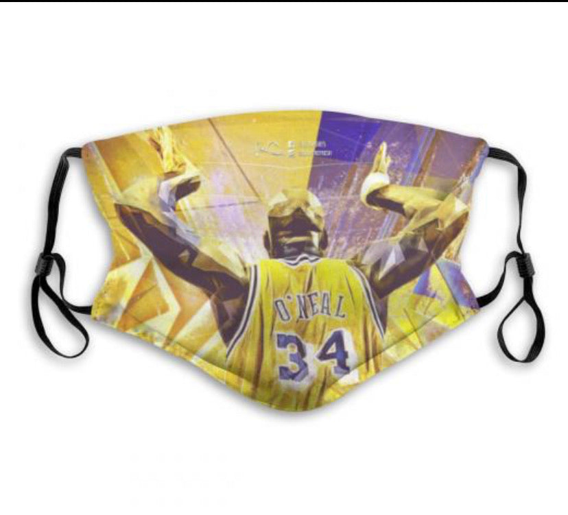 Shaq Face Mask (Pack of 4)