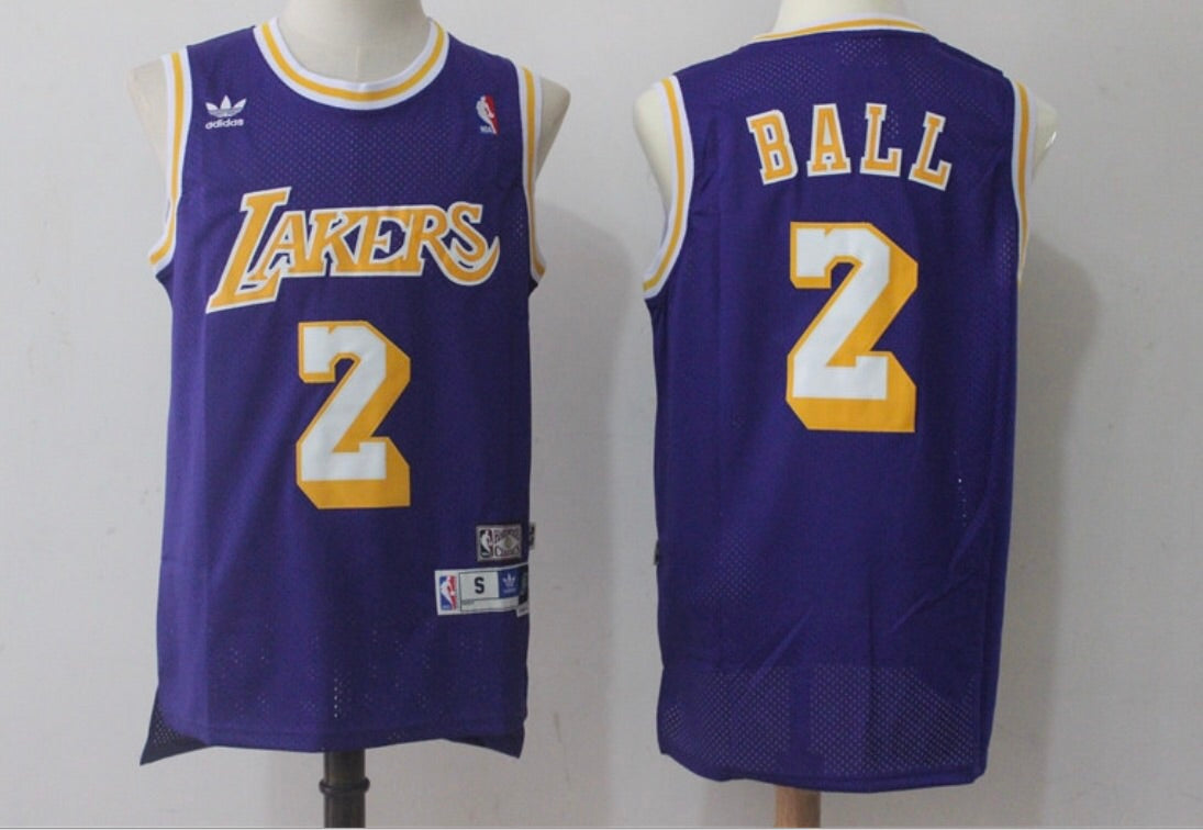 Throwback Lonzo Ball Jersey