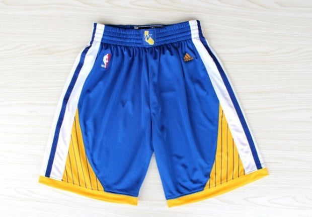 Throwback Warriors Shorts
