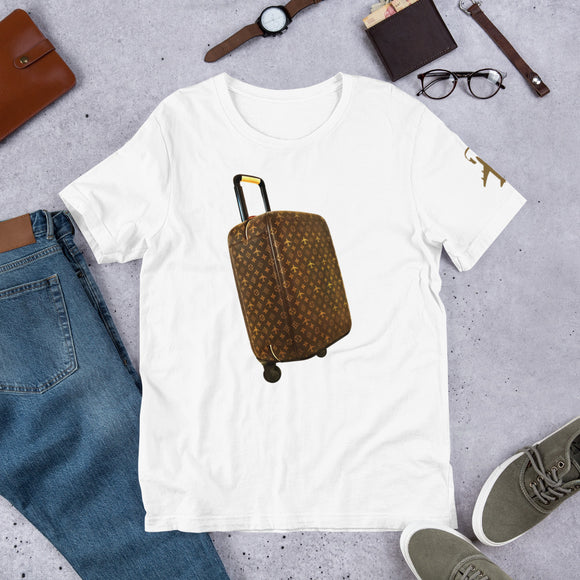 Rolling Luggage Unisex T-Shirt