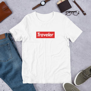 """Traveler"" (Supreme inspired)  Unisex T-Shirt"