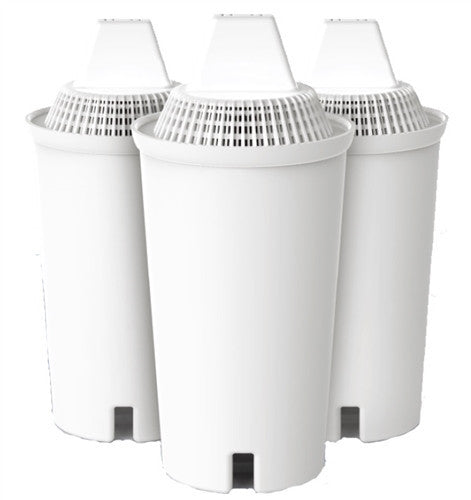 Alkaline Water Pitcher Replacement Filters - 3 Pack