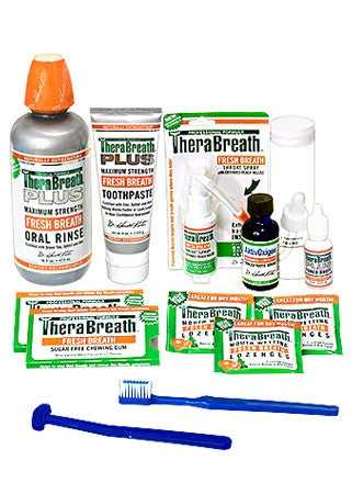 Therabreath Plus Starter Kit - STKT-TBPL-5 - Bad Breath Remedy PLUS Starter Kit