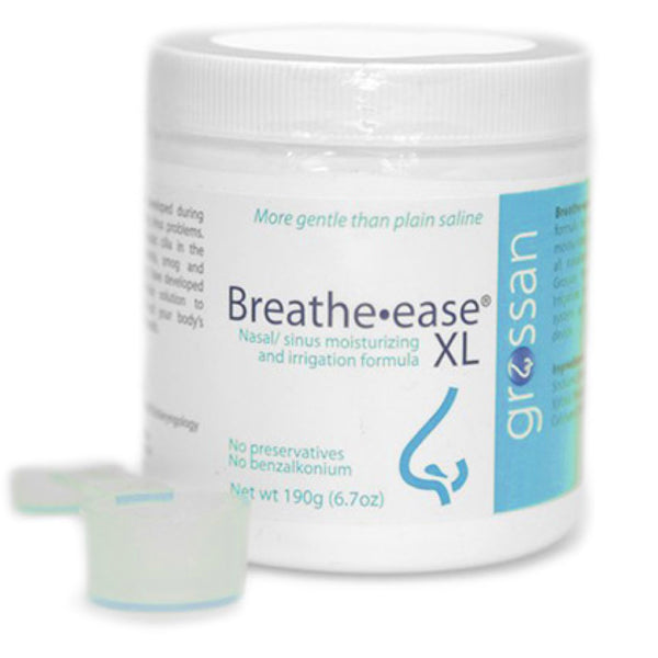 Breathe Ease XL By Grossan Salt Jar 190 Grams