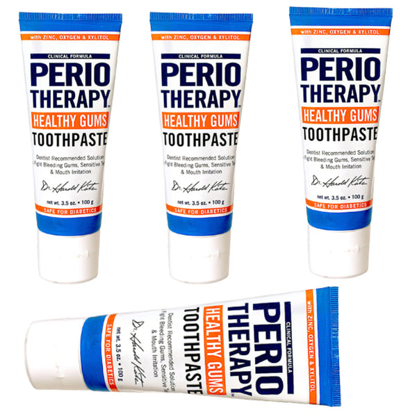 Healthy Gums Periotherapy Toothpaste - A 4 Pack