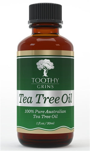 Tea Tree Essential Oil 100% Pure Australian Undiluted 30ml or 1 Ounce By Toothy Grins