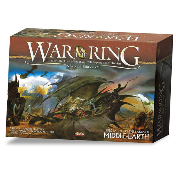 War Of The Rings - 2nd Edition - Ares Games