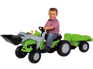 Big Jimmy Pedal Tractor Plus Trailer Pedal Ride On - Youthful Imagination