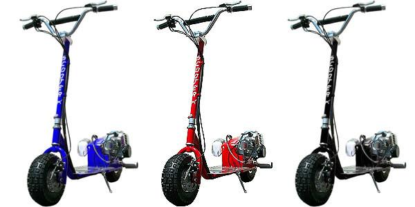 Dirt Dog 49cc Scooter by ScooterX Black - Youthful Imagination