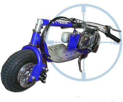 ScooterX Dirt Dog 49cc Blue - Youthful Imagination