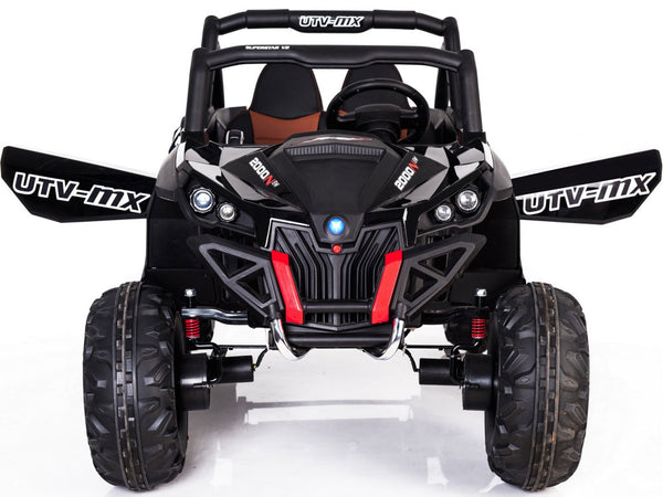 Mini Moto UTV 4x4 12v Black & White (2.4ghz RC)
