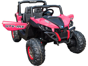 Mini Moto UTV 4x4 12v Pink (2.4ghz RC)
