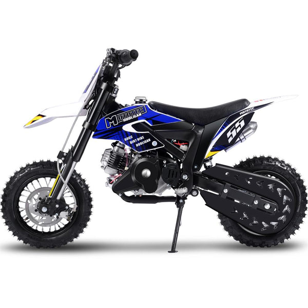 MotoTec Hooligan 60cc 4-Stroke Gas Dirt Bike Black