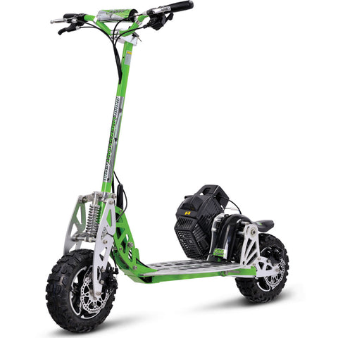 UberScoot 70x 2-Speed Gas Scooter Green