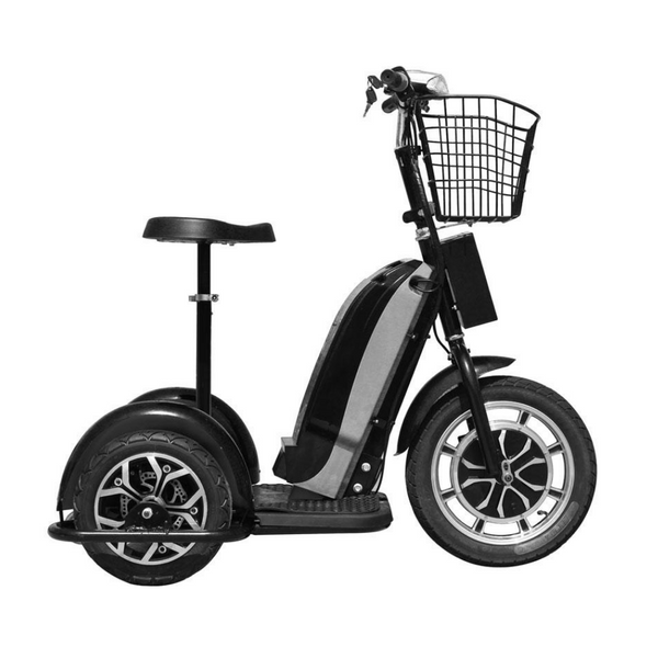 MotoTec Electric Trike 48v 800w Sit Or Stand