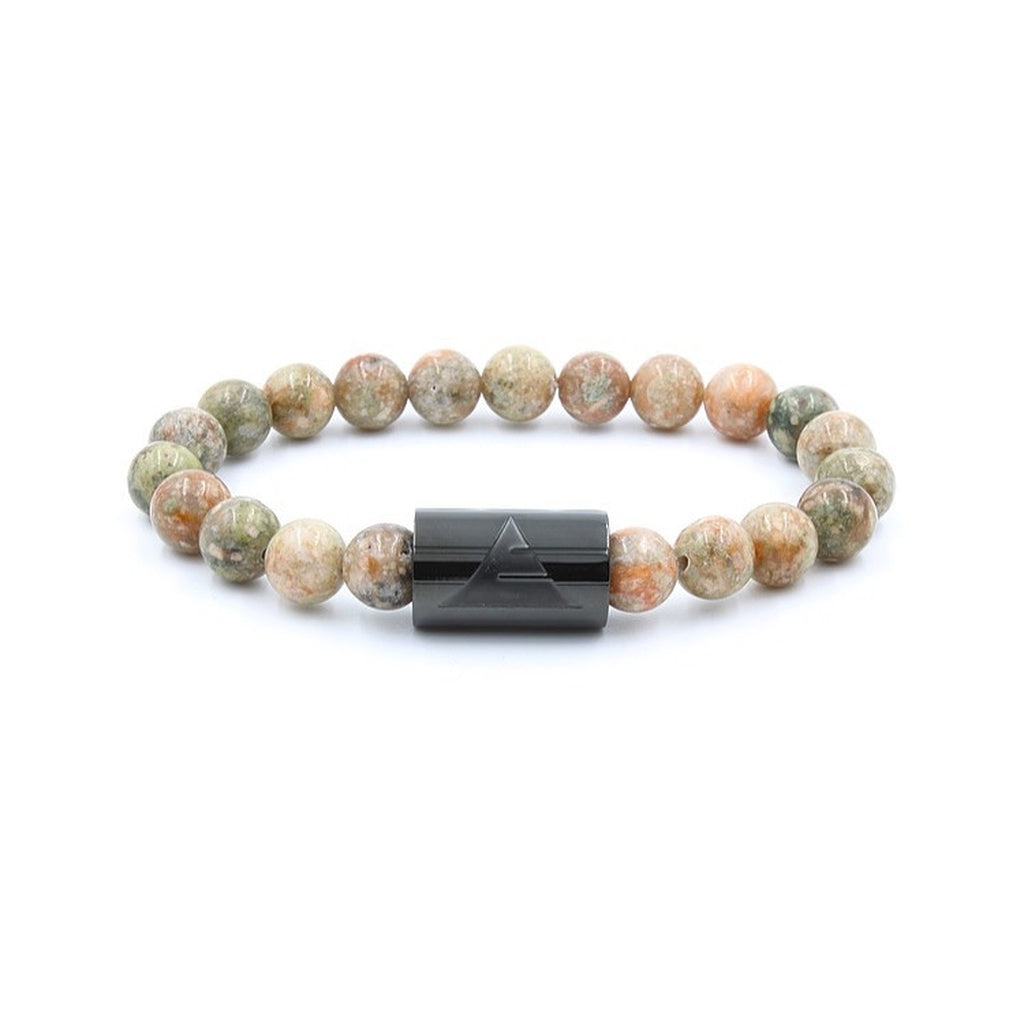 Autumn Jasper | Beaded Bracelet