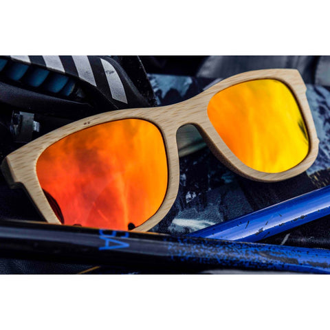 Darmati | Alpine Fire Bamboo Sunglasses