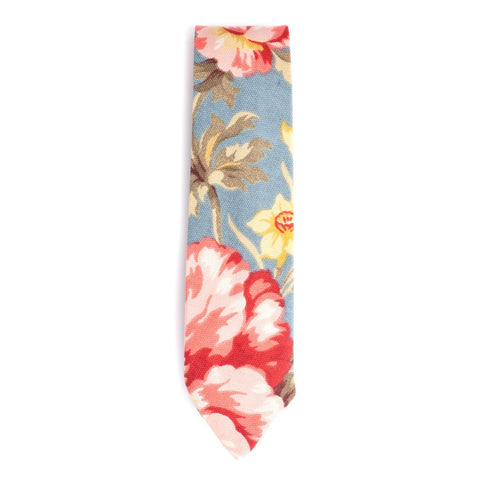 QP Collections | Sky Blue Floral Tie