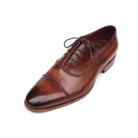 Paul Parkman | Brown Captoe Oxfords Shoes