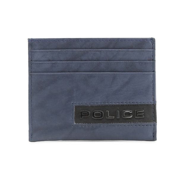 Police | Navy Leather Wallet