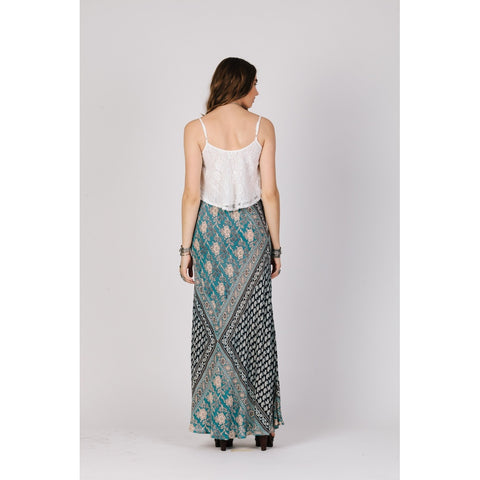 Blue Moon Boho Skirt