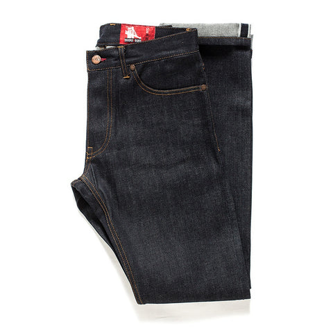 Bridge & Boro | Indigo Raw Slim Selvedge Jeans