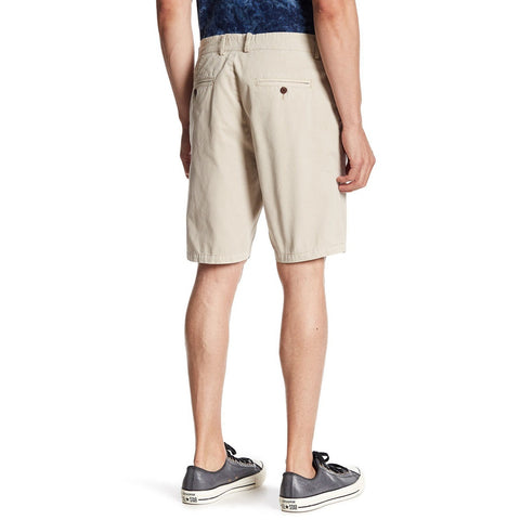 PX Morgan | Cream Mens Shorts