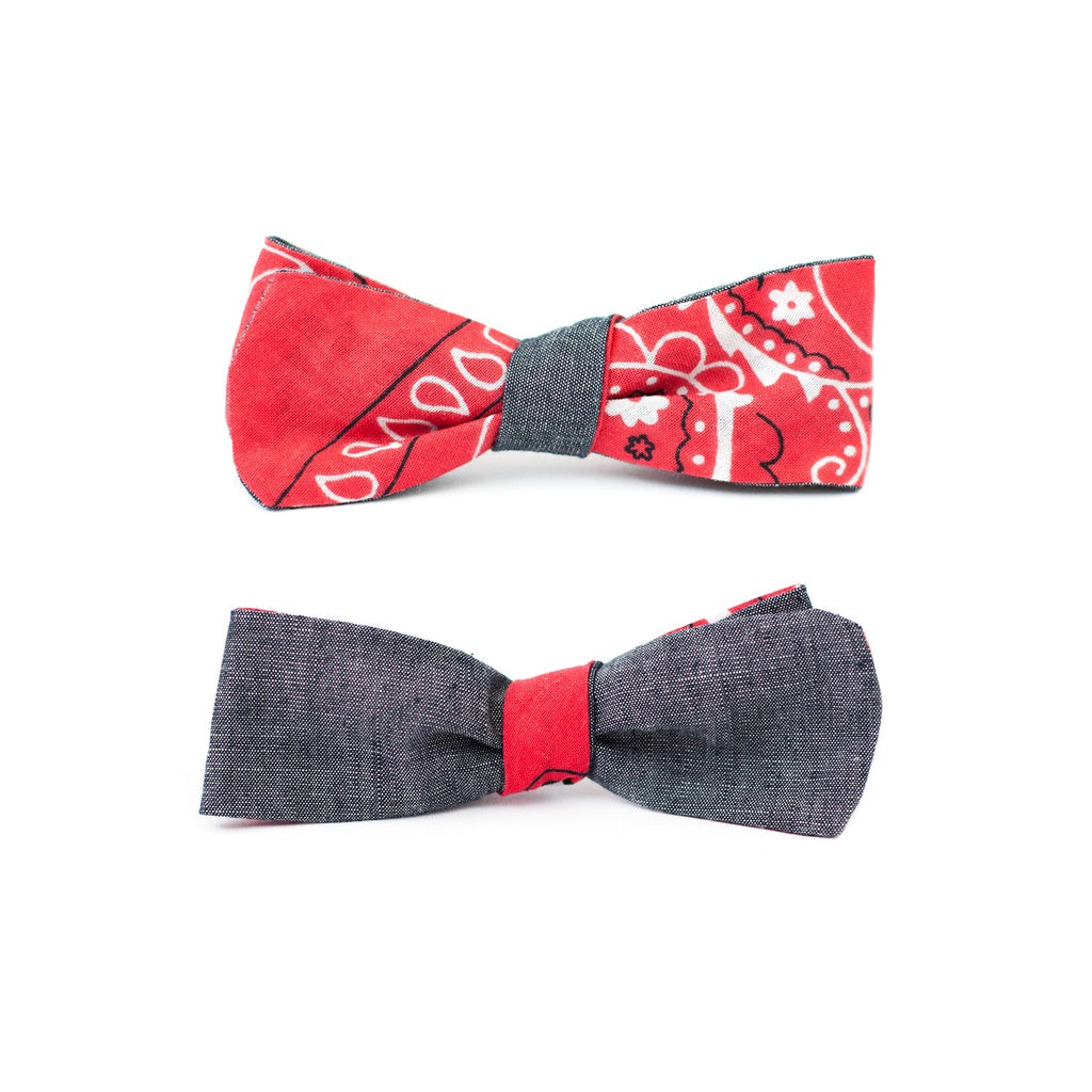QP Collections |  Bandana Double Sided Bowtie