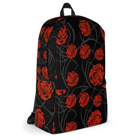 Paradise Red Roses Backpack