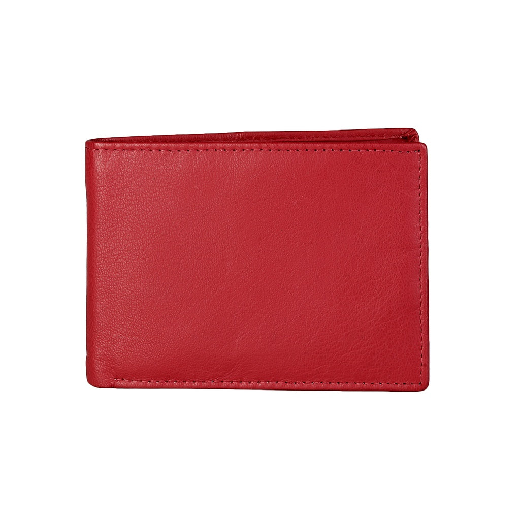 Made in Italia Grosseto | Red Leather Wallet