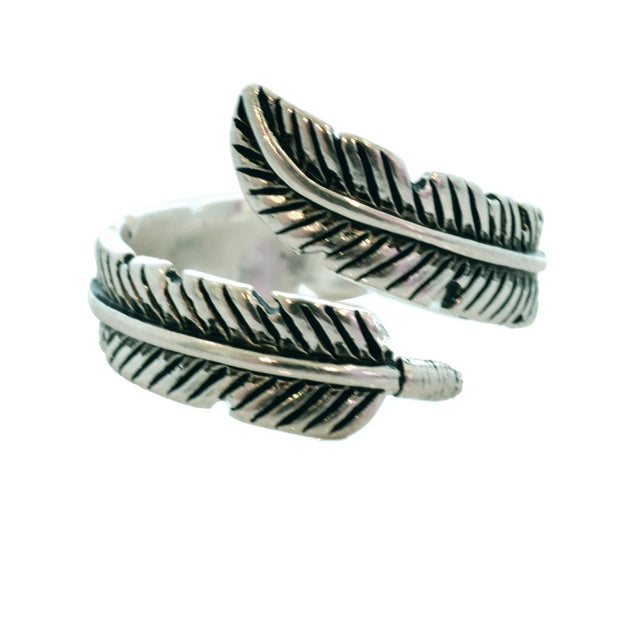 Ariel Feather Open Ring