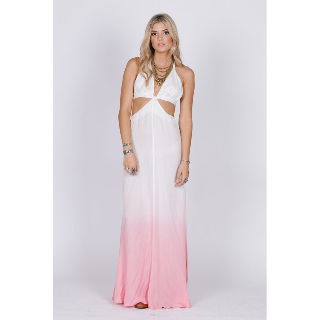 Fairy Dust Halter Maxi Dress