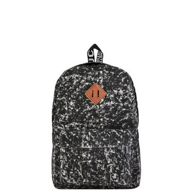 Black Acid Wash Backpack