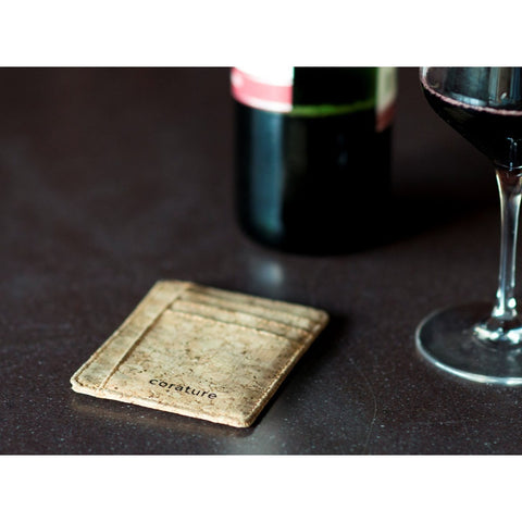 Cork Minimalist Wallet with RFID Protection