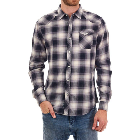 PX Neil | Plaid Long Sleeve Shirt