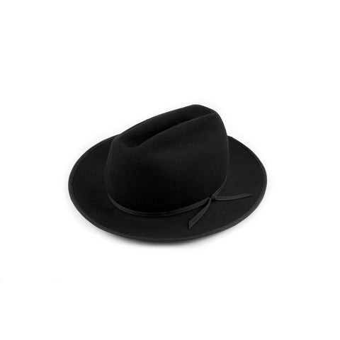 QP Collections | Black Western Hat