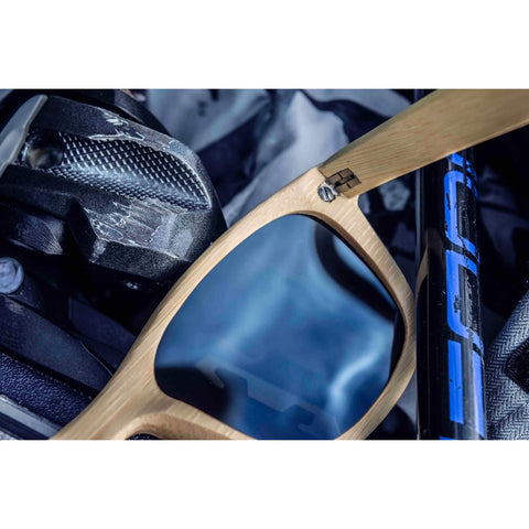 Darmati | Alpine Ice Bamboo Sunglasses