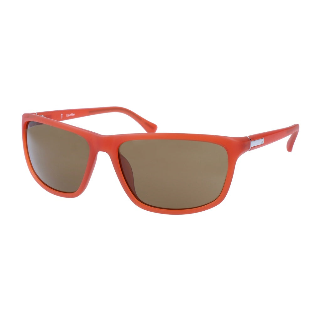 Calvin Klein | Red Orange Mens Sunglasses